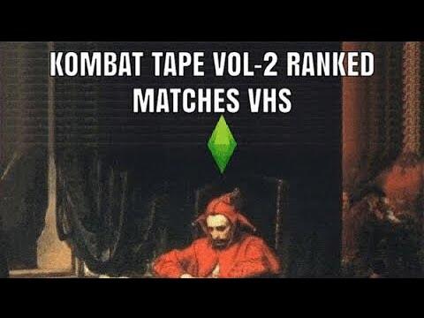 KOMBAT TAPE VOL-2 VHS MORTAL KOMBAT