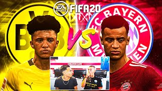 FIFA 20: COUTINHO vs SANCHO SKILL BATTLE - Bayern vs Dortmund Gameplay