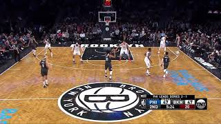 Boban Marjanovic All Game Actions 04/20/2019 Philadelphia 76ers vs Brooklyn Nets Highlights