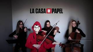"Golden Gate String Quartet - La Casa de Papel "" Bella Ciao"""