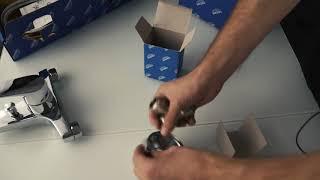 видео Смеситель для ванны GROHE BauFlow 32811000