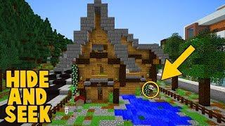 ER GEWINNT NUR MIT SCHUMMELN? ✿ HIDE and SEEK in Minecraft HAUS