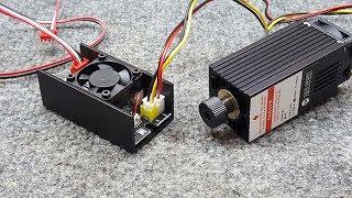 3018 CNC Engraving 5,500 Mw Laser Upgrade Pt 2