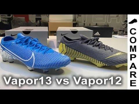 COMPARE Nike Mercurial Vapor 13 Vs Vapor 12