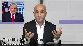 602-Shafie Ayar live show Jan 5 2019سخنان ترامپ ریس جمهور آمریکا مورد افغانستان