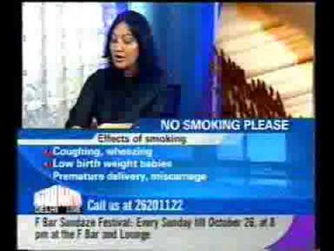 """Passive smoking, smoking and women, smoking helps to lose weight"" Sajeela addresses"