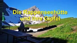 TOP - Die Rappenseehütte und ihre Gipfel