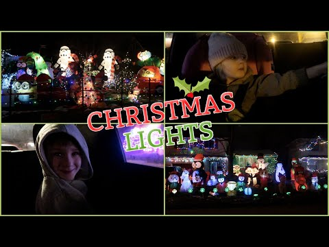 Drive Around And Look At Christmas Lights With Us!