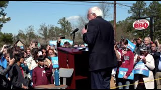 BERNIE SPEAKS AT CANVASS LAUNCH AHEAD OF SC PRIMARY