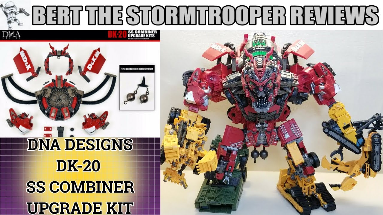 DNA Designs DK 20 Studio Series Devastator Upgrade Kit Review by Bert The Stormtrooper!