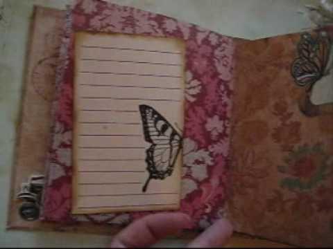 Vintage mini book