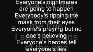 Iron Maiden - Face in the Sand Lyrics