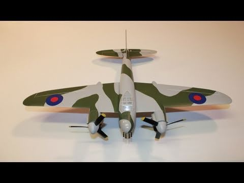 ParkZone Ultra Micro Mosquito Mk VI BNF Review And Modifications