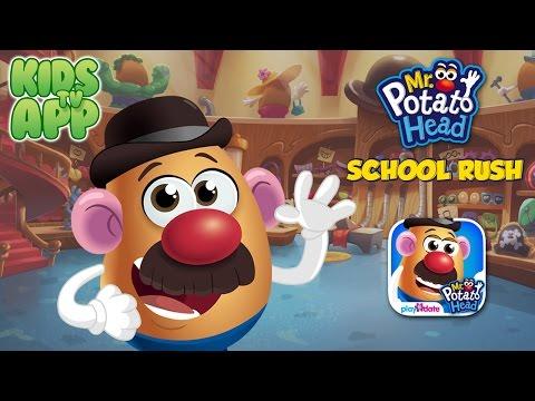 Mr. Potato Head: School Rush (PlayDate Digital) - Best App For Kids