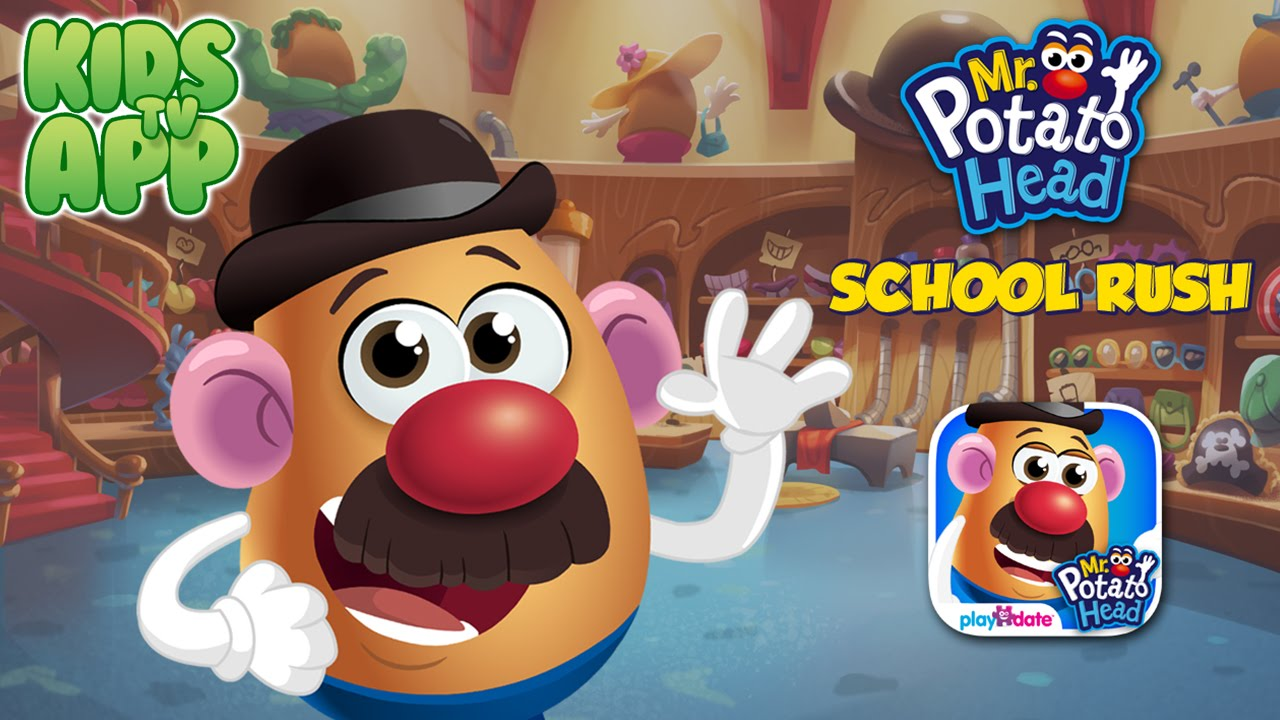 Mr Potato Head School Rush Playdate Digital Best App For Kids