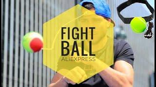 aliexpress Boxing Ball, мячик на резинке для развития точности удара, скорости реакции и координации