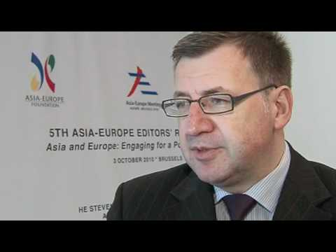 Voices of Asia and Europe HE Mr Steven Vanackere - YouTube