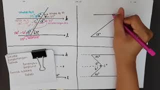 YE - GARIS DAN SUDUT - Sudut yg Terbentuk Jika 2 Garis Transversal Dipotong o/ Satu Garis Transversl