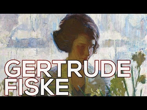 Gertrude Fiske: A collection of 43 paintings (HD)