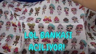 LOL BANKASI AÇILIYOR!! LOL SÜRPRİZ ALTIN BULMA CHALLENGE - Bidünya Oyuncak