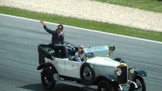 Desfile Pilotos F1 Gran Premio Montmeló 2013