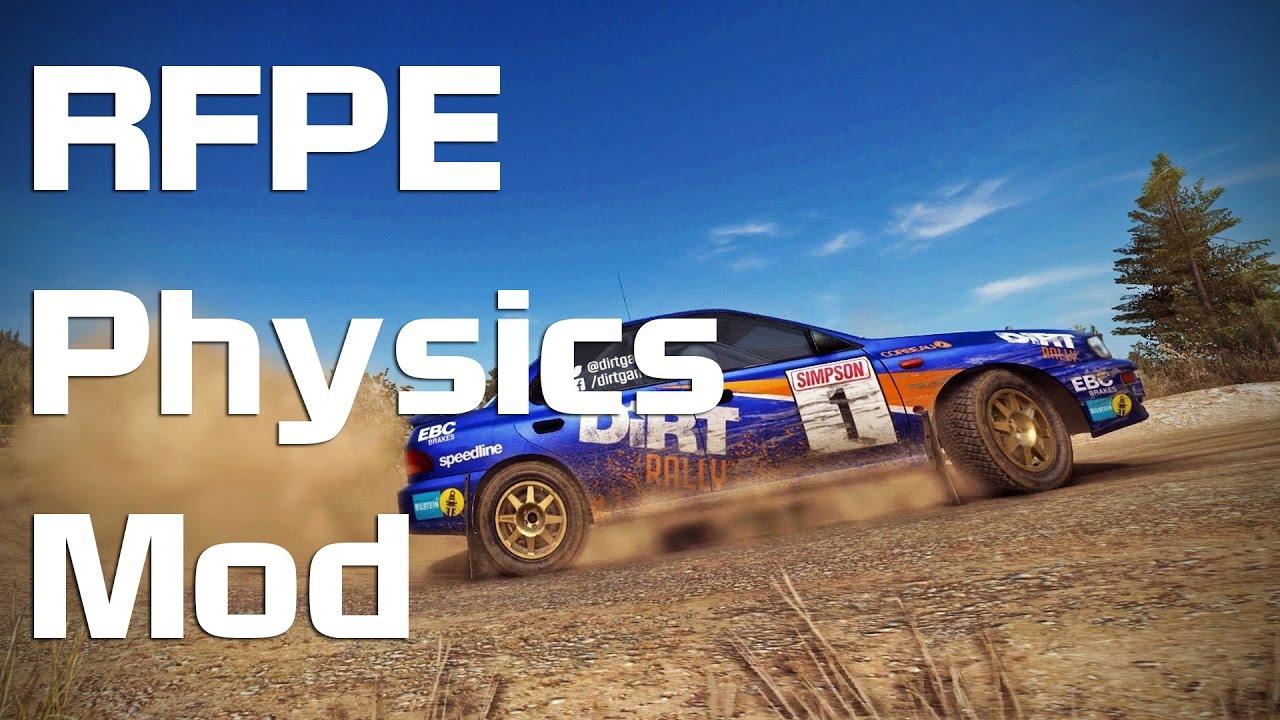 DiRT Rally - RFPE Physics Mod - YouTube