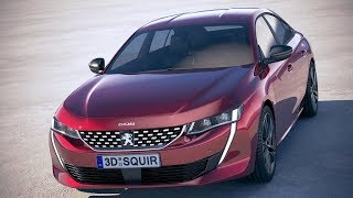 2019 Peugeot 508 - DRIVE & DESIGN of the TOP Model of the French Brand !!!