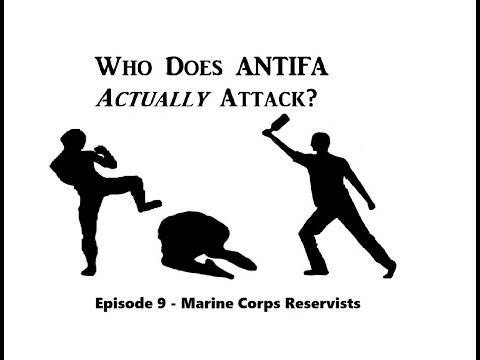 Who Does Antifa Actually Attack 9 - Marine Corps Reservists