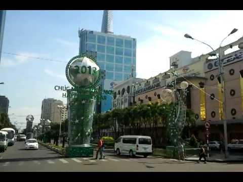 Ho Chi Minh City, Vietnam- Nguyen Hue/Le Loi square