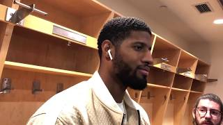 Thunder at Raptors - Paul George