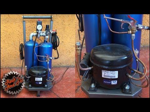 Como hacer un Compresor de Aire Silencioso  / Silent Air Compressor |DIY thumbnail