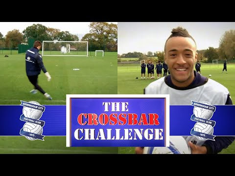 Old School Crossbar Challenge ⚽🙌 | Birmingham City