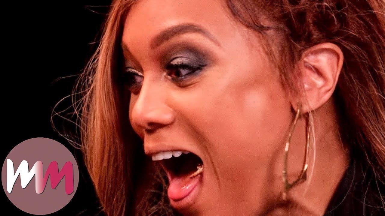 Top 10 Awesome Tyra Banks Moments