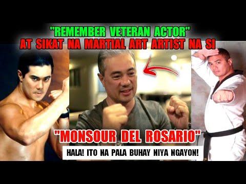 """Remember Veteran actor Martial Art Artist""""Monsour Del Rosario""""hala ito na pala ang buhay niya ngayon"""