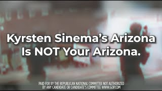 Kyrsten Sinema's Arizona is NOT Your Arizona.