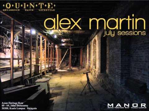 Alex Martin - July Sessions - Tech House Mix 2012