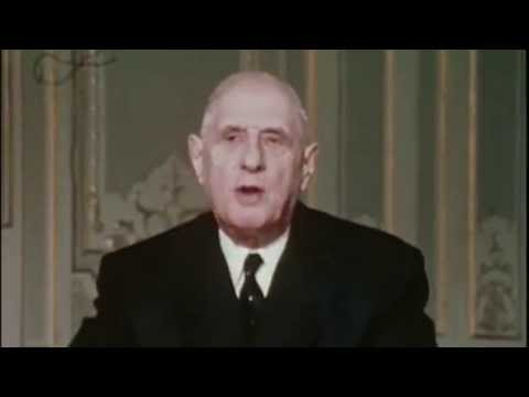 Les Ricains, la CIA, mai 68 et de Gaulle.