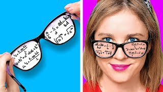 BACK TO SCHOOL HACKS! || Funny DIY Ideas With School Supplies by 123 Go! Live