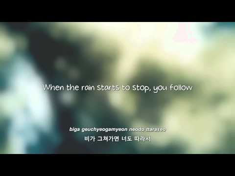 BEAST- 비가 오는 날엔 (On Rainy Days) lyrics [Eng. | Rom. | Han.]