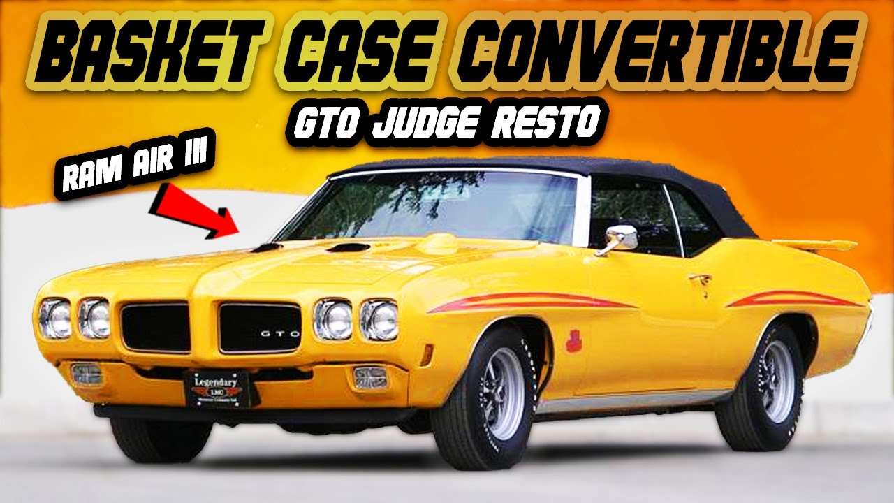 This 1970 Pontiac GTO Judge Convertible came in baskets...