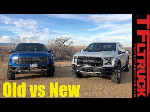 Old vs New: 2017 Ford Raptor vs 2014 SVT Raptor Review ...