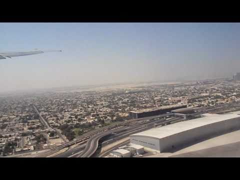 Taking Off And Flying Over Dubai With Emirates [HD]