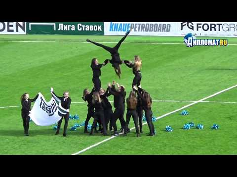 Группа поддержки ФК «Тосно» ENERGY Cheerleading Team