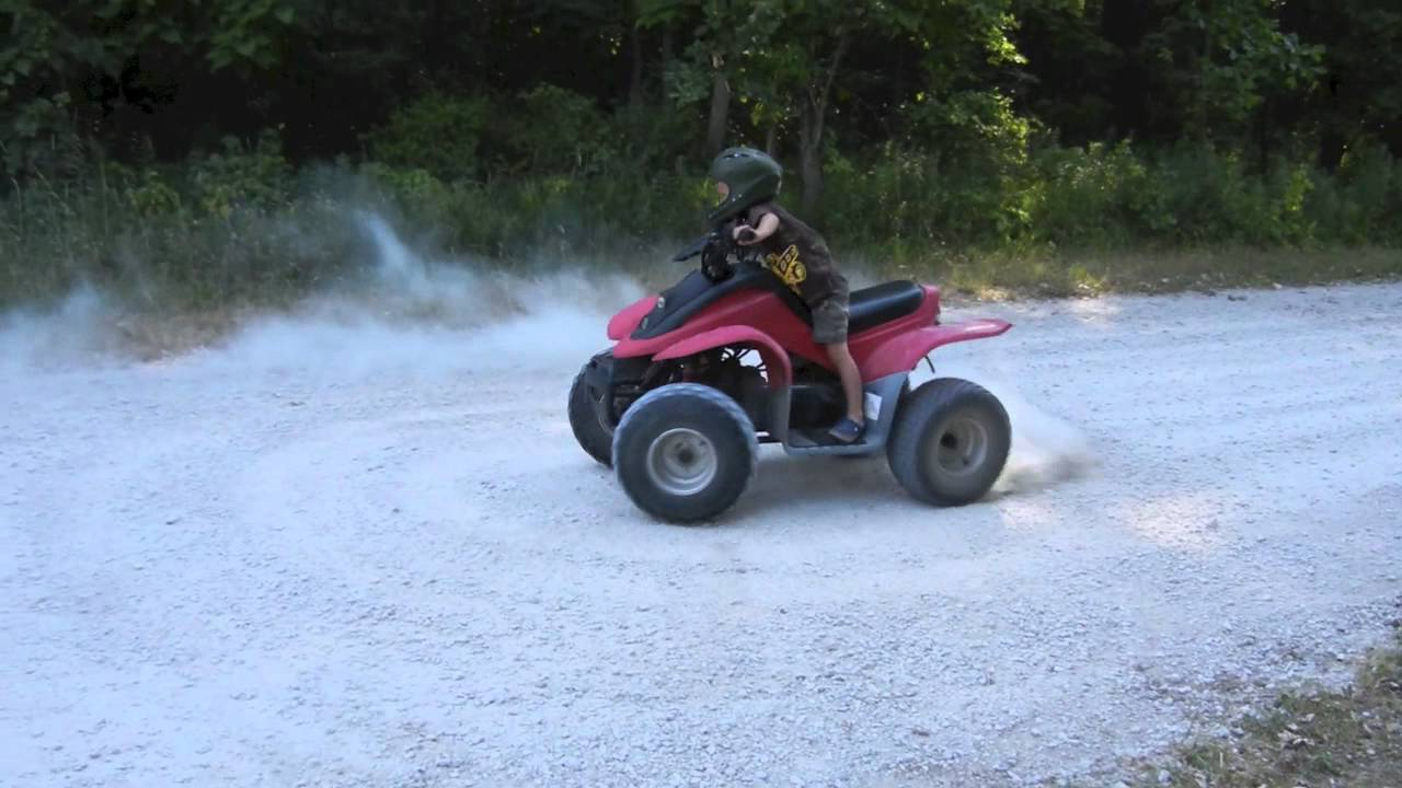 Paul 39 S First Gas Powered Atv Youtube
