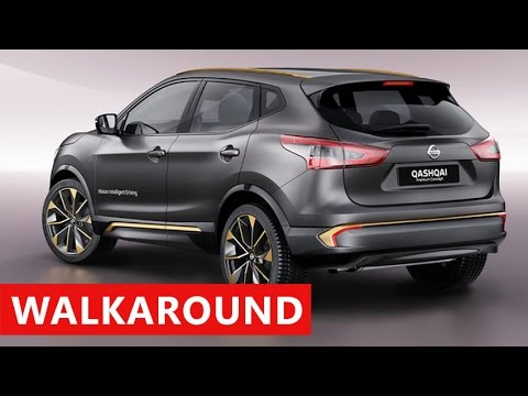 2017 nissan qashqai interior exterior review youtube for Interior nissan qashqai