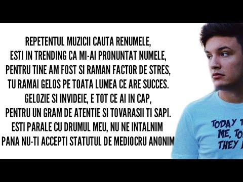 Alex Alvarez - DISS MARI O FRECI (Lyrics/Versuri)