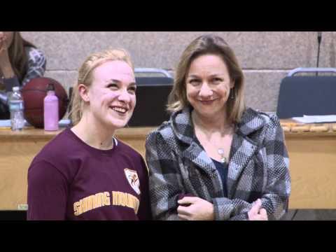 Shining Mountain Waldorf School 2011 Winter Sport Senior Recognition Ceremony.