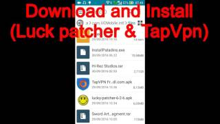 (Free)Upgrade TapVPN Free To Pro (with Lucky Patcher)