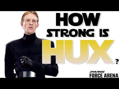 How Strong is General HUX? Star Wars: Force Arena - Deck Theory Crafting
