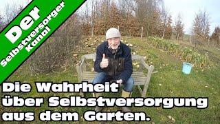 Die Wahrheit über Selbstversorgung aus dem Garten